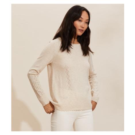 Svetr Odd Molly Simone Sweater - Bílá