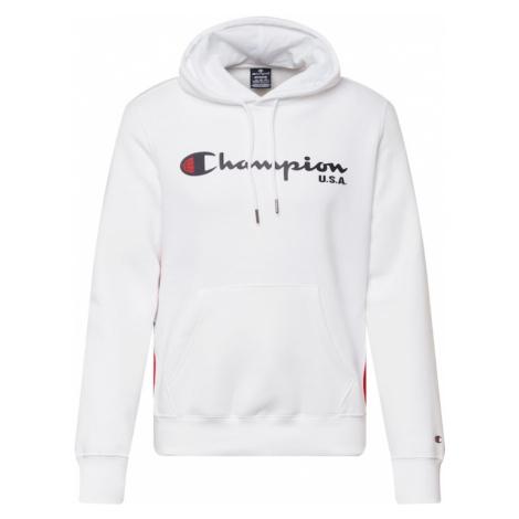 Champion Authentic Athletic Apparel Mikina bílá / námořnická modř / červená