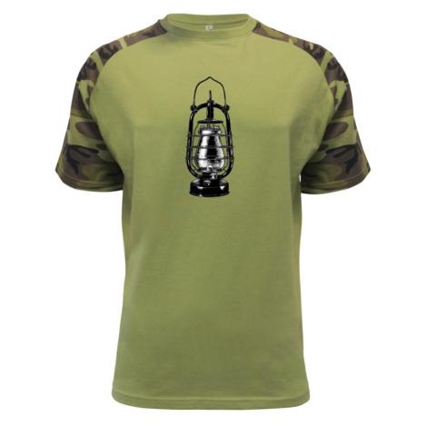 Stará petrolejová lampa - Raglan Military