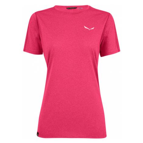 Dámské triko Salewa Pedroc 3 Dry T-Shirt Pink