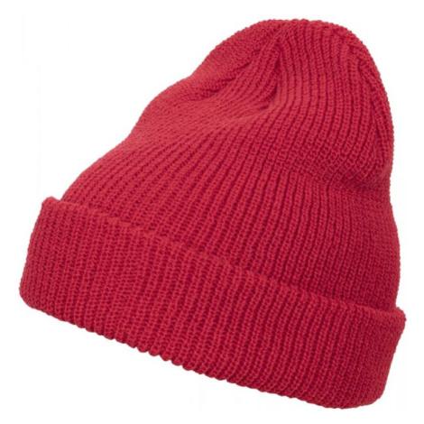 Long Knit Beanie - red Urban Classics