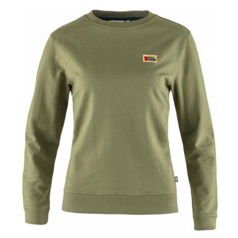 Fjällräven Vardag Sweater W Green zelené F83519-620