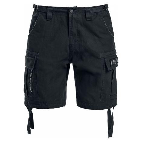 Black Premium by EMP Army Vintage Shorts Dámské šortky černá