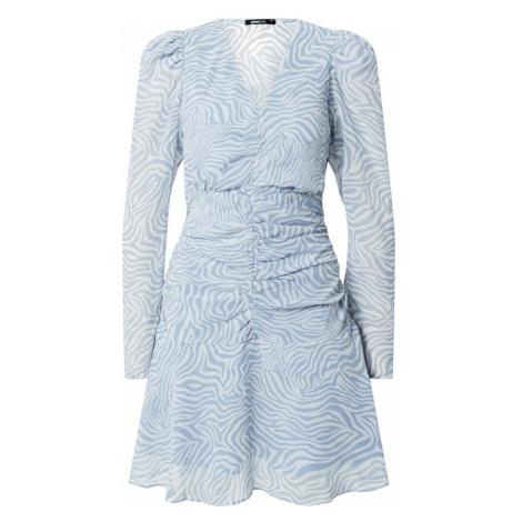 Gina Tricot Šaty 'Selena' opálová / bílá