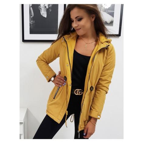 Žlutá přechodová bunda ty0832 BASIC