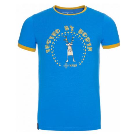 KILPI Chlapecké triko MERCY-JB KJ0085KIBLU Modrá