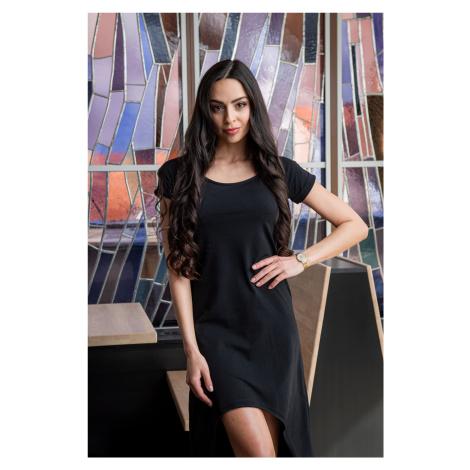 Černé volné šaty Sintimo