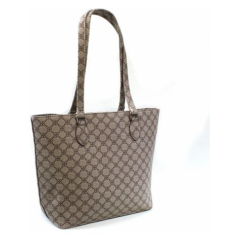 Hnědá dámská luxusní kabelka přes rameno Qiana Tapple