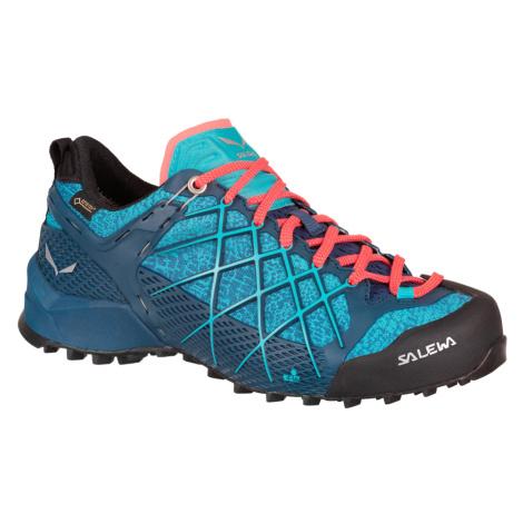 Dámská turistická obuv Salewa Wildfire GTX Ombre Blue
