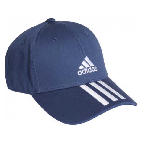 adidas BASEBALL 3 STRIPES CAP COTTON tmavě modrá - Kšiltovka