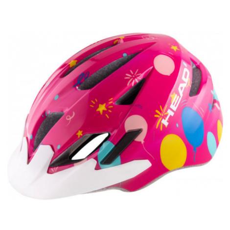 Head Y11A OUT MOULD růžová - Dětská cyklistická helma