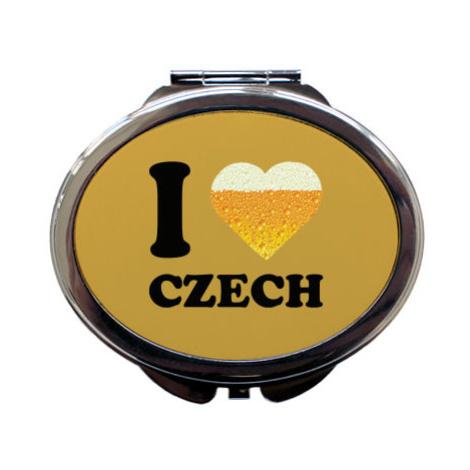 Zrcátko I love czech beer