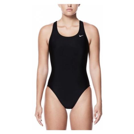 Nike NYLON SOLIDS černá - Dámské jednodílné plavky