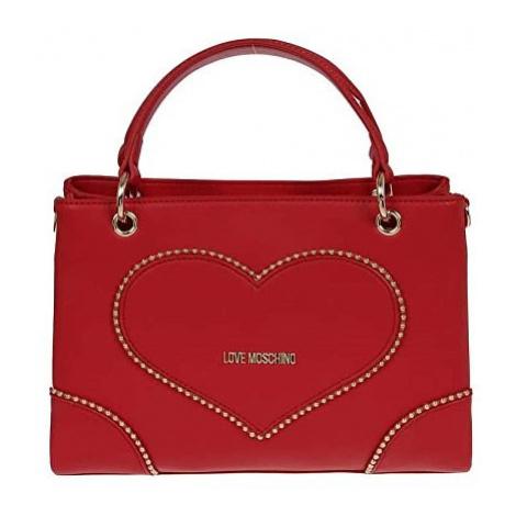 LOVE MOSCHINO LOVE MOSCHINO dámská červená crossbody kabelka