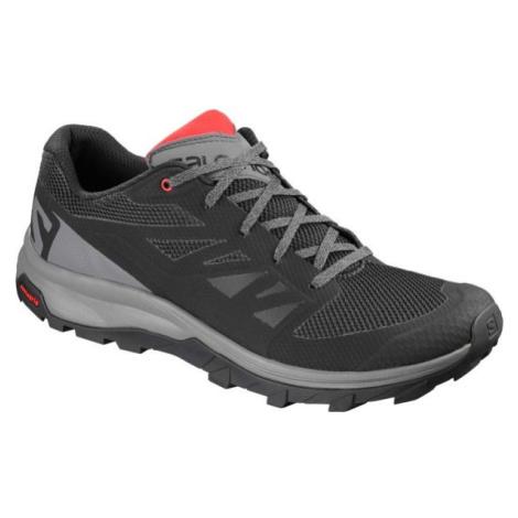 Salomon OUTLINE šedá - Pánská hikingová obuv