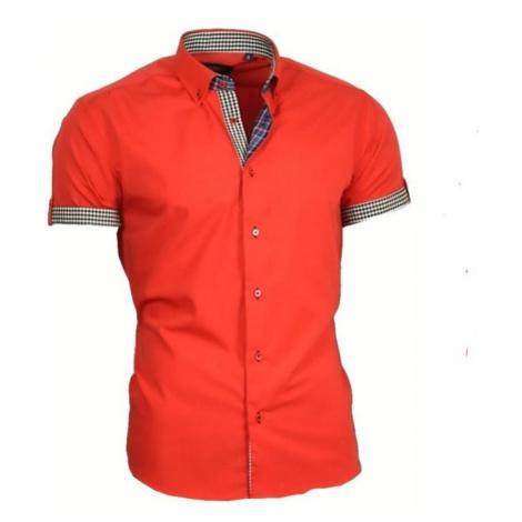 BINDER DE LUXE košile pánská 83301 s krátkým rukávem