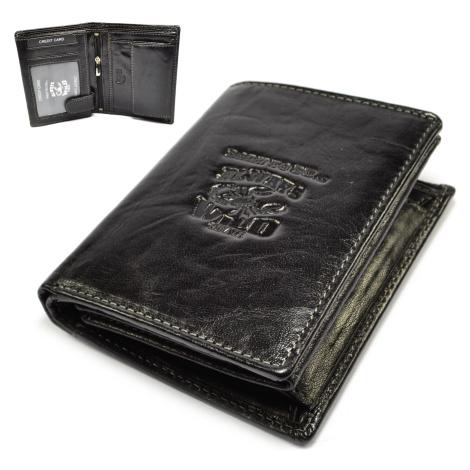Pánská tenká kožená peněženka Wild