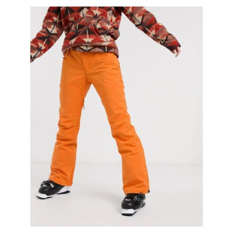 Billabong Terry ski pant in orange