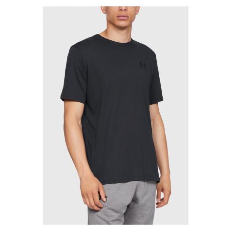 Černé tričko Under Armour Sportstyle