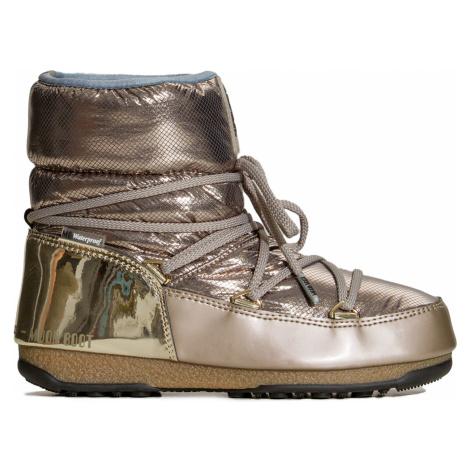 Boty Moon Boot LOW ST.MORITZ WP zlatá