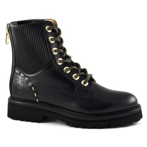 Kotníková Obuv La Martina Women'S Ankle Boot Tassel Black - Černá