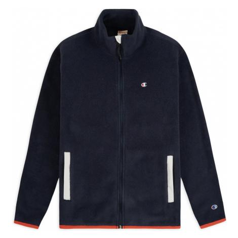 Champion Reverse Weave Full Zip C Fleece modré 215114_F20_BS501
