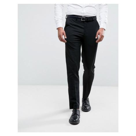 River Island skinny fit smart trousers in black
