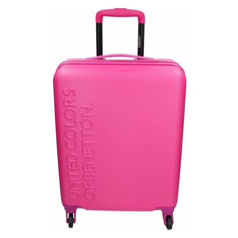Kabinový cestovní kufr United Colors of Benetton Aura - růžová 34l