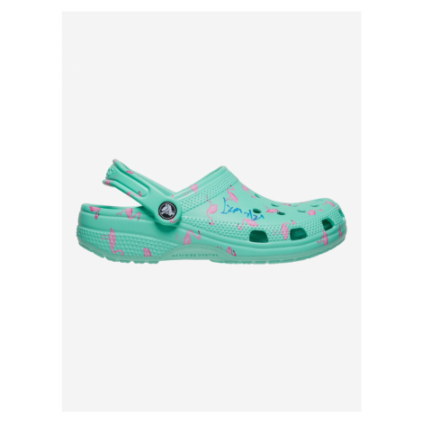 Classic Vacay Vibes Clog Crocs Crocs Modrá