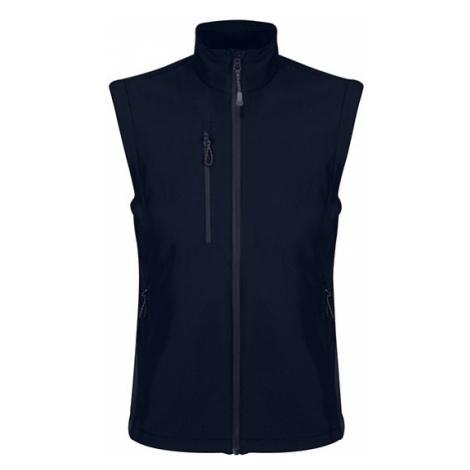 Pánská Softshell vesta - Honestly Made Recycled Softshell Bodywarmer, XXXL, námořnická modrá