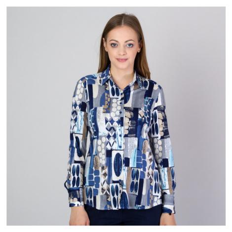 Dámská košile s barevným geometrickým vzorem 11813 Willsoor