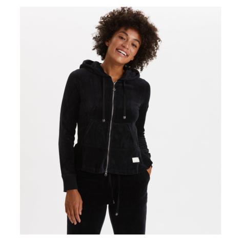 Mikina Odd Molly Hygge Jacket - Černá