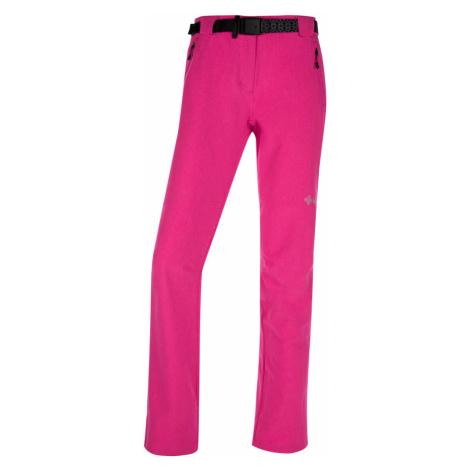 KILPI Dámské outdoor kalhoty WANAKA-W IL0026KIPNK Růžová