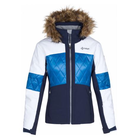 KILPI Dámská lyžařská bunda ELZA-W LL0019KIDBL Tmavě modrá
