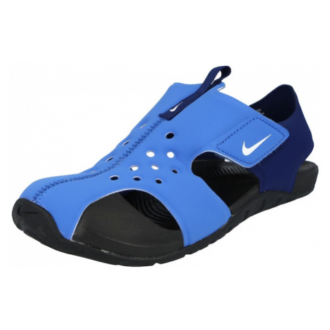 Nike Sportswear Plážová/koupací obuv 'Sunray Protect 2 TD' tmavě modrá / světlemodrá
