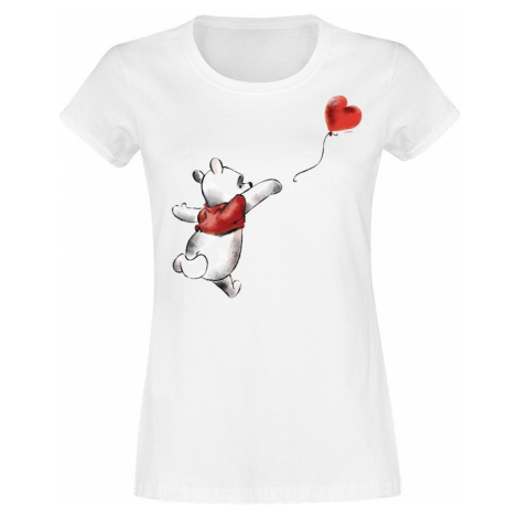 Winnie The Pooh Heart Dámské tričko bílá