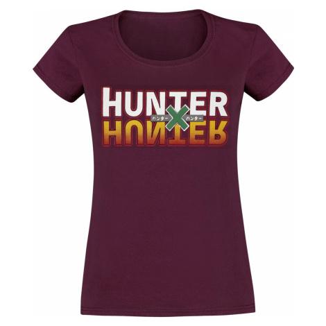 Hunter x Hunter Hunter x Hunter dívcí tricko bordová