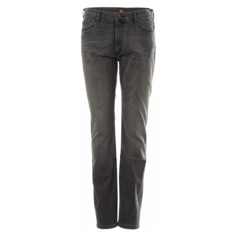 Lee jeans Rider Moto Worn In pánské šedé