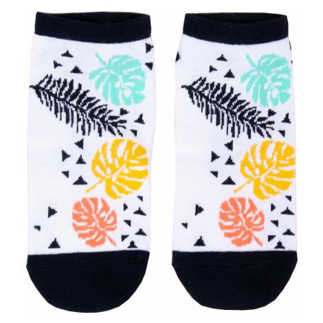 Dámské ponožky YO! SK-86 Spoksy 35-41 mátová žíhaná