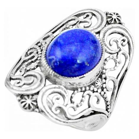 AutorskeSperky.com - Stříbrný prsten s lapis lazuli - S3215