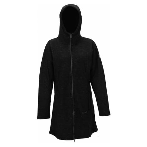 TN - dámský fleece kabát s kapucí - černý 2117 of Sweden