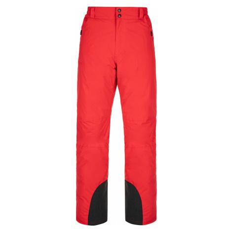 KILPI Pánské lyžařské kalhoty GABONE-M NM0040KIRED Červená
