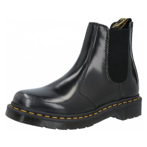 Dr. Martens Chelsea boty '2976' černá / žlutá Dr Martens