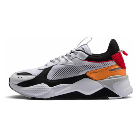 RS-X TRACKS: Puma White-PumaBlack