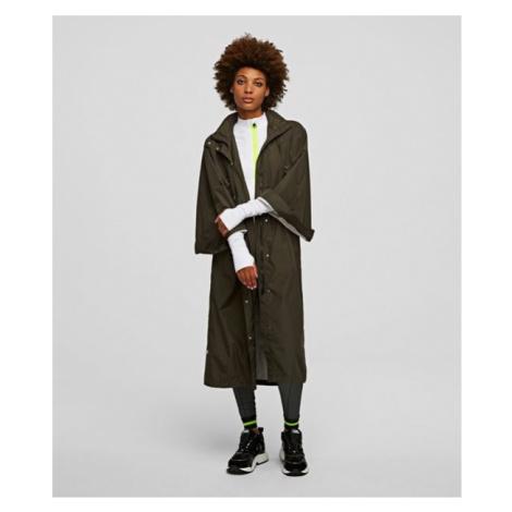 Bunda Karl Lagerfeld Rain Poncho - Zelená