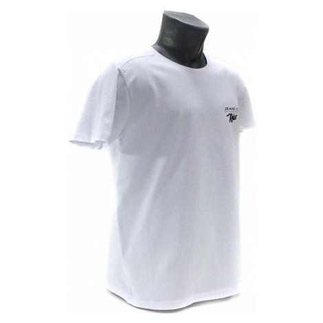 Bílé pánské tričko s kulatým výstřihem Ashton Tony