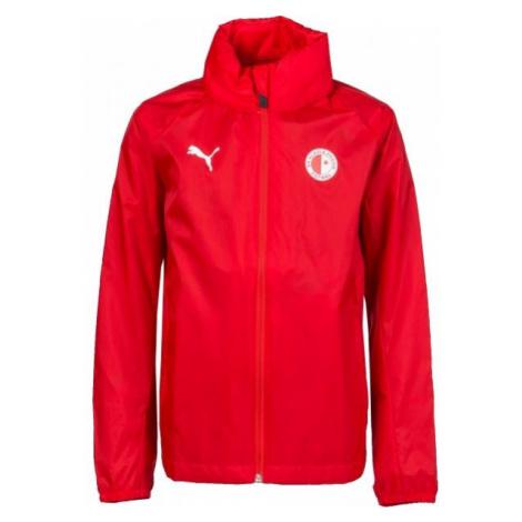 Puma LIGA TRG JKT JR SLAVIA červená - Chlapecká sportovní bunda