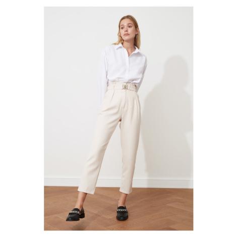 Dámské kalhoty Trendyol Stone