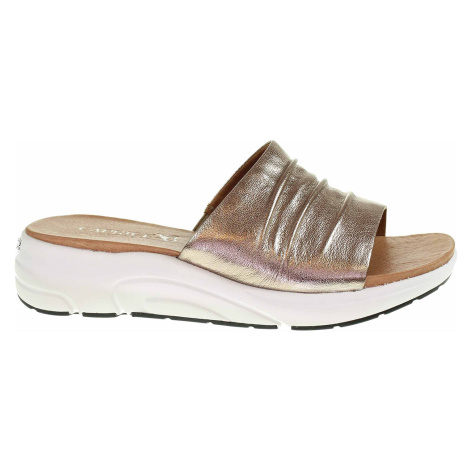 Dámské pantofle Caprice 9-27203-26 taupe metallic