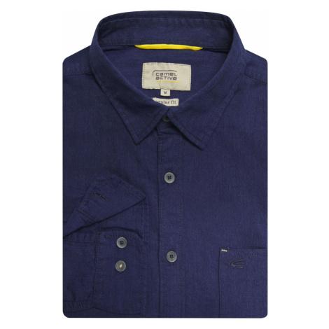 Košile Camel Active Dan Kent 1/1 - Modrá